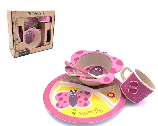 Image sur Pure Kids kinderservies bamboe