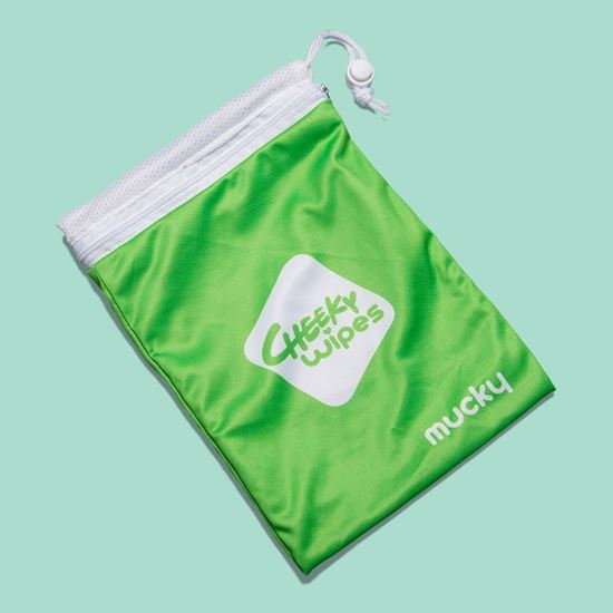 Image sur Wet bag Cheeky Wipes
